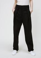 Jil Sander black clemente trouser
