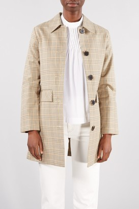 Selected SAND CHECK LYDIA NEW COAT - 34