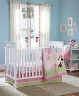Disney Minnie 4 Piece Crib Bedding Set, Butterfly Charm by