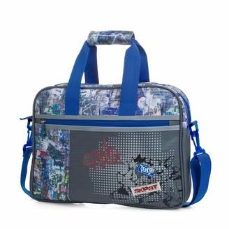 SKPAT - Messenger Bag School Bag with an Adjustable Shoulder Strap and 2 Handles. Outer Pocket with Zipper. Wide Opening 53906