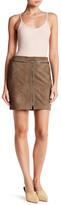 ATM Anthony Thomas Melillo Suede Mini Skirt