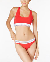 Calvin Klein Modern Cotton Bralette And Bikini Gift Set QF1693