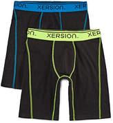 Xersion 2PK Power Long Leg Boxer Briefs - Big & Tall