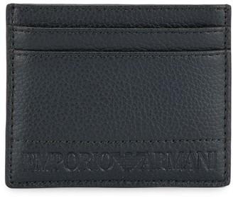 Emporio Armani Embossed Card Holder