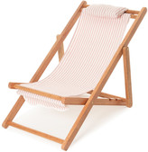 Business & Pleasure Mini Striped Canvas Sling Chair