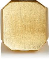 Jennifer Fisher WOMEN'S LARGE ID RING-GOLD SIZE 6