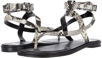 MICHAEL Michael Kors Pearson Thong (Natural) Women's Shoes