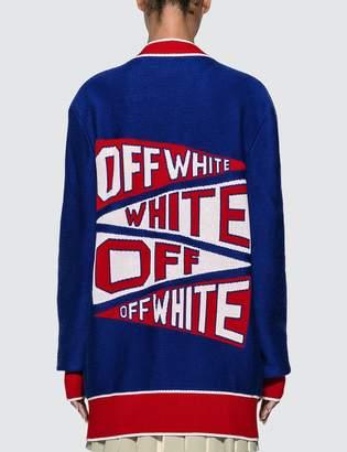 Off-White Off White Flag Cardigan