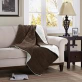 Madison Home USA Premier Comfort Corduroy & Berber Down-Alternative Throw
