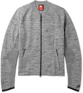 Nike - Sportswear Mélange Tech Knit Bomber Jacket