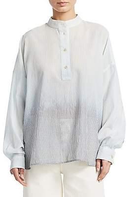 Elizabeth and James Women's Flint Striped Shirt