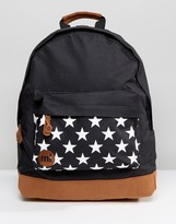 Mi-Pac Stars Black Backpack