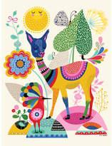 Oopsy Daisy Fine Art For Kids Llama Happiness Canvas Art