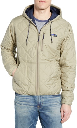 Patagonia Weather Resistant Thermogreen Insulated Recycled Ripstop Hooded Jacket