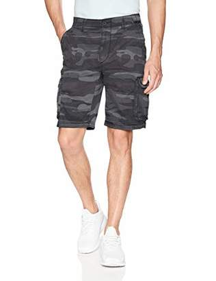 UNIONBAY Men's Stretch Fresh Twill Relaxed Fit Zipper Cargo Short