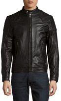 Diesel Laleta Leather Jacket