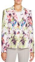 Basler Floral Print Blazer