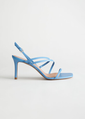 And other stories Strappy Leather Heeled Sandal