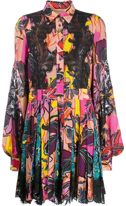 Antonio Berardi Floral-Print Shirt Dress