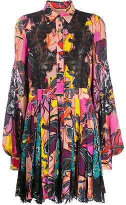 Antonio Berardi Floral-Print Shirt Dress