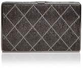 Sondra Roberts Quilted Leather Clutch