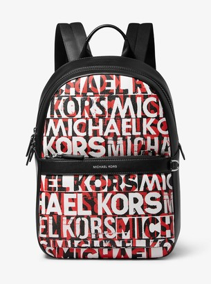 Michael Kors Greyson Graphic Logo Backpack