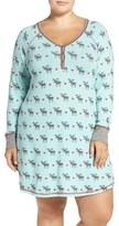 PJ Salvage Plus Size Women's Short Nightgown