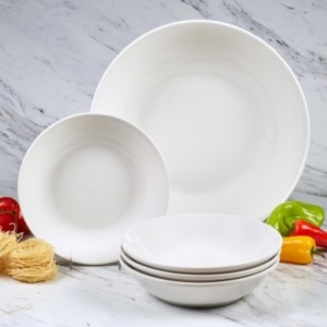 Certified International Bianca 5-Pc. Pasta Set