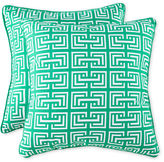 JCPenney Square Interlock 2-Pack Decorative Pillows