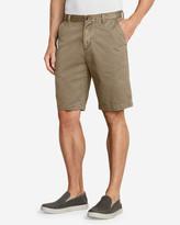 """Eddie Bauer Men's Legend Wash 11"""" Chino Shorts - Solid"""