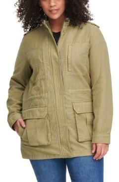Levi's Stand-Collar Cotton Anorak Jacket