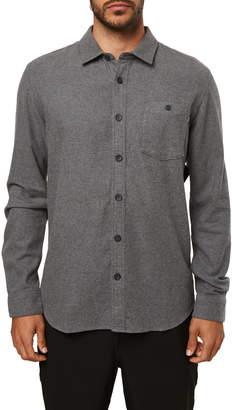 O'Neill Redmond Standard Fit Button-Up Flannel Shirt