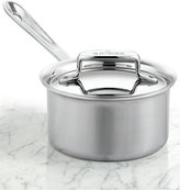 All-Clad BD5 Brushed Stainless Steel 1.5 Qt. Covered Saucepan