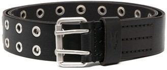 AllSaints Punch-Hole Buckle Belt