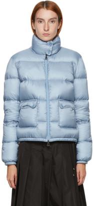 Moncler Blue Down Lannic Jacket