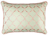 Veratex Rosario Tile-Embroidered Pillow