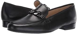 ara Kaelin (Black Nappa Soft) Women's Slip-on Dress Shoes