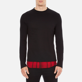 Mcq Alexander Mcqueen Recycled Tshirt - Dark Black/red Tartan