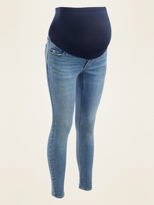 Old Navy Maternity Full-Panel Rockstar Super Skinny Jeans