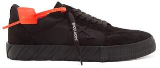 Off-White Off White Vulcanised Canvas Trainers - Mens - Black