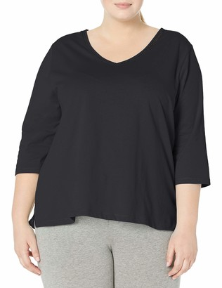Karen Neuburger Women's Pajama Top 3/4 Sleeve Shirt Pj