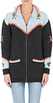 Stella McCartney Women's Embroidered Cotton-Wool Cardigan