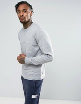 New Balance Sweatshirt In Grey Mt63552_ag
