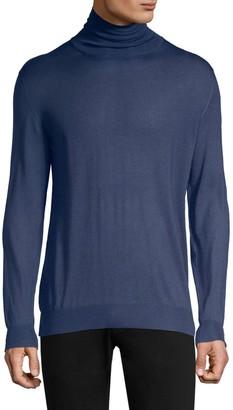 Larusmiani Long-Sleeve Turtleneck Sweater