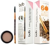 Billion Dollar Brows 60 Seconds to Beautiful Brows 2-Piece Kit - Taupe