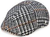Tagliatore embroidered flat cap