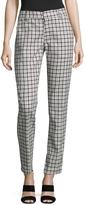 Antony Morato Women's Checkered Cotton Tapered Pant
