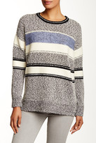 Vince Texture Block Easy Fit Sweater