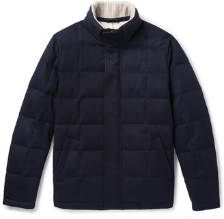Loro Piana Storm System Quilted Shell Hooded Jacket