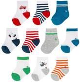 Jumping Beans Toddler Boy Jumping Beans® 10-pk. Low-Cut Socks